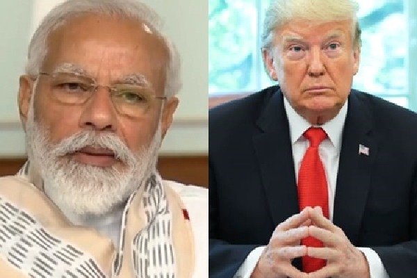 Trump Claims PM Modis Praise In Covid Fight