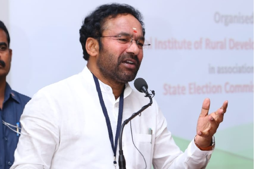Kishan Reddy says MIM has no relations to Muslims