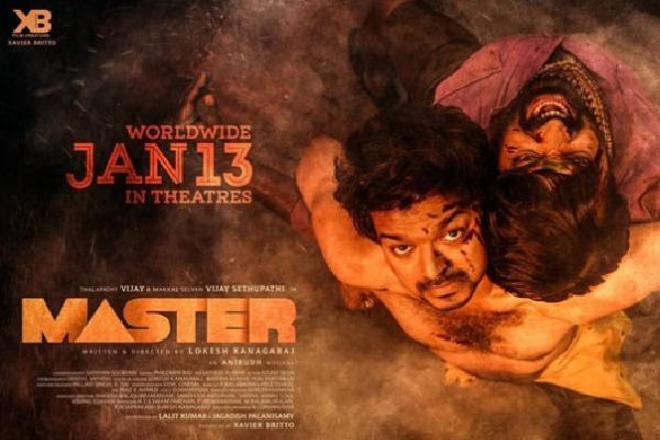 Vijay Staring MASTER Seanes Leaked online