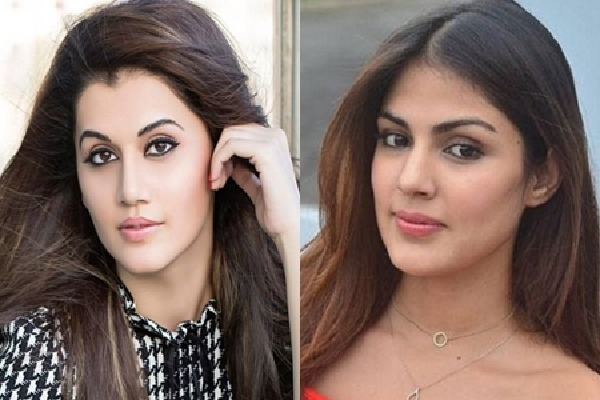 I dont have any contact with Rhea says Taapsee