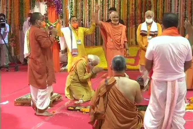 Ayodhya Bhoomi Pooja completed