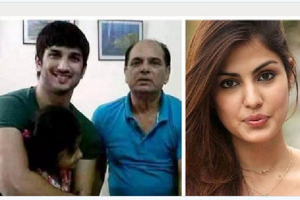 Sushant father KK Singh accuses Rhea Chakraborty