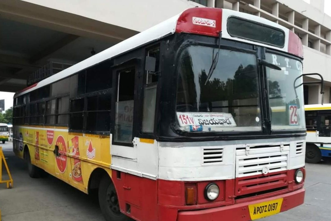 City buses started in Vijayawada after covid lockdown