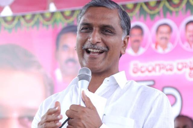 Minister Harish Rao campaigns in Dubbaka constituency
