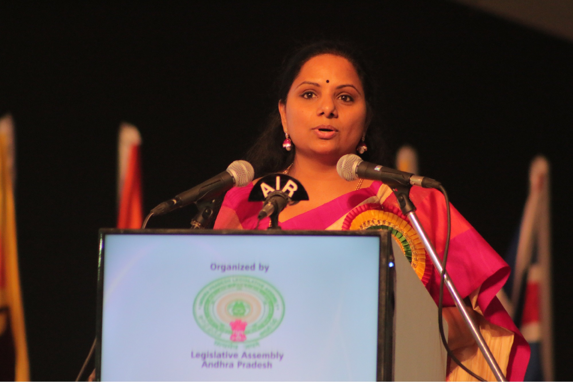 Kalvakuntla Kavitha comments ahead of GHMC elections