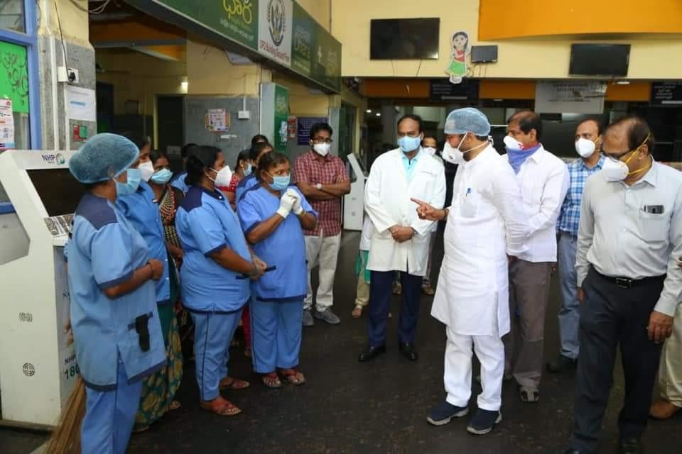 Kishan Reddy concerned over corona cases raise in Telangana