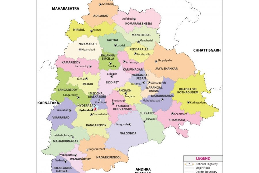 New revenue division Vemulavada formed in Telangana