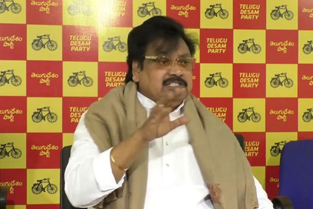 Peddireddy should be removed from cabinet says Varla Ramaiah