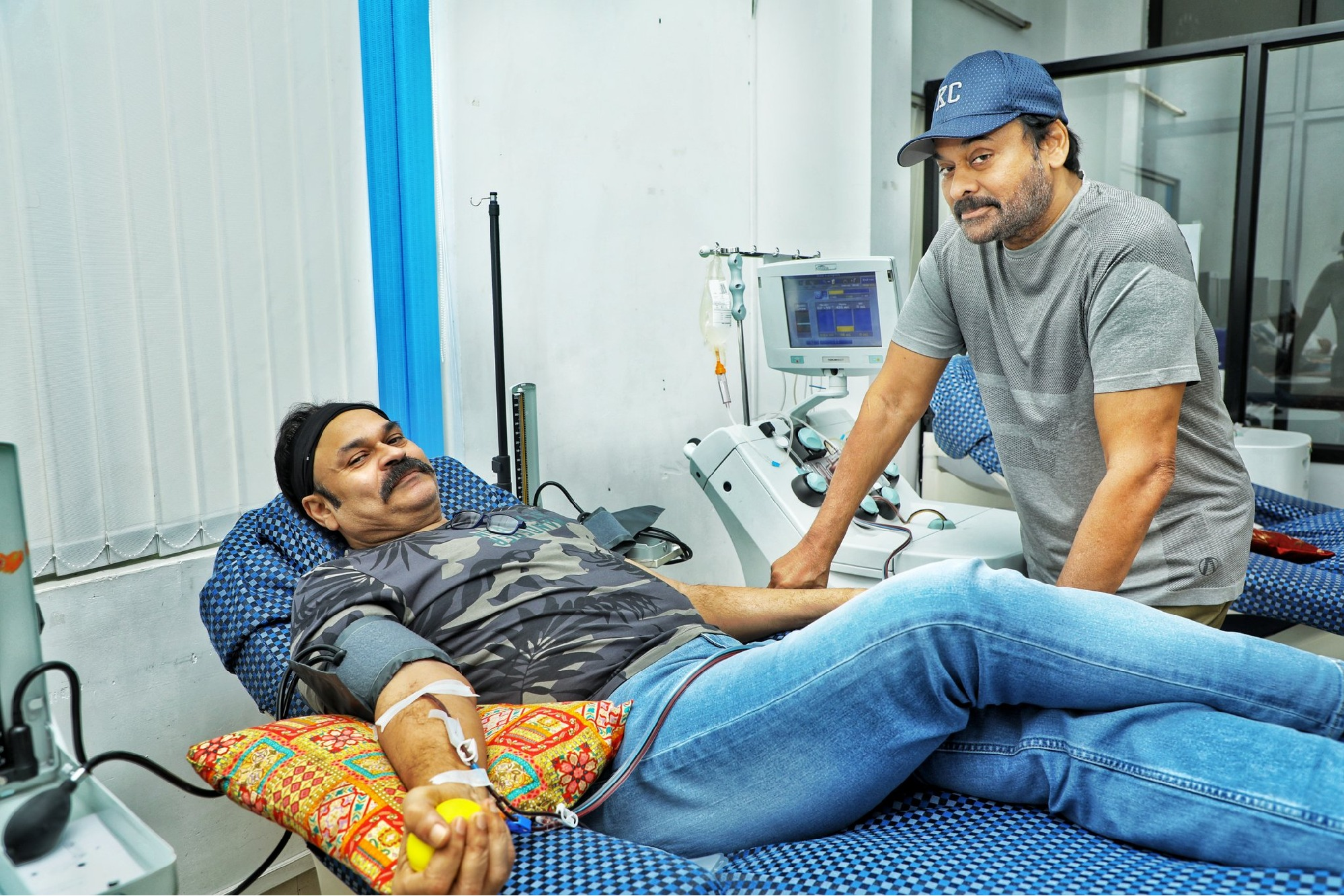 Megastar Chiranjeevi surprised his brother Nagababu
