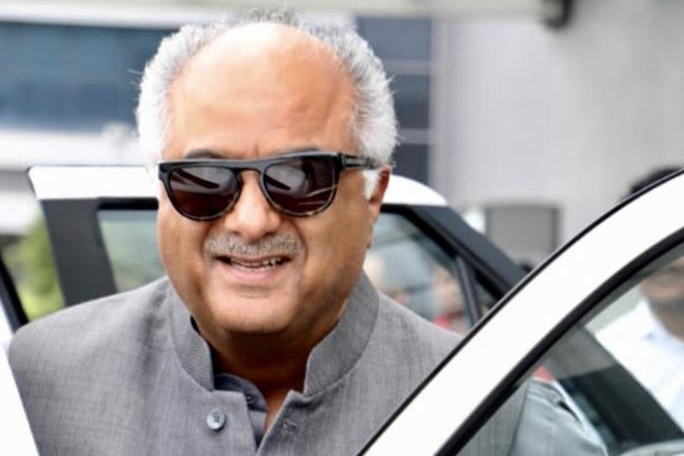 Producer Boney Kapoor acts in a bollywood film
