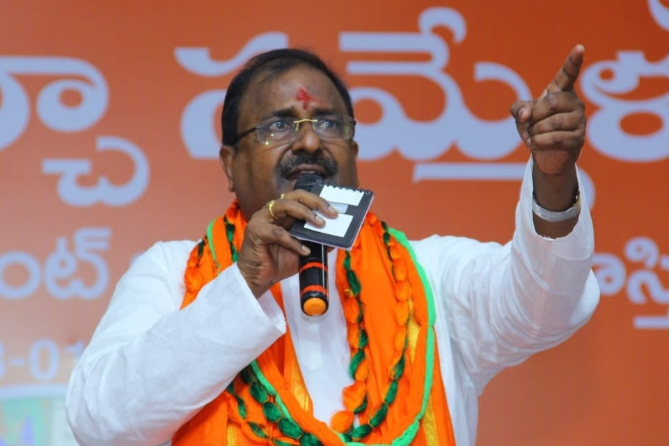 Somu Veerraju says BJP wont tolerate discrimination of Hindus in AP