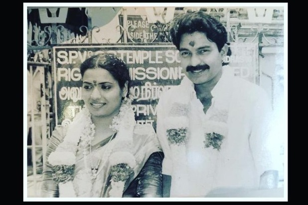 Rajasekhar shares his marriage pic