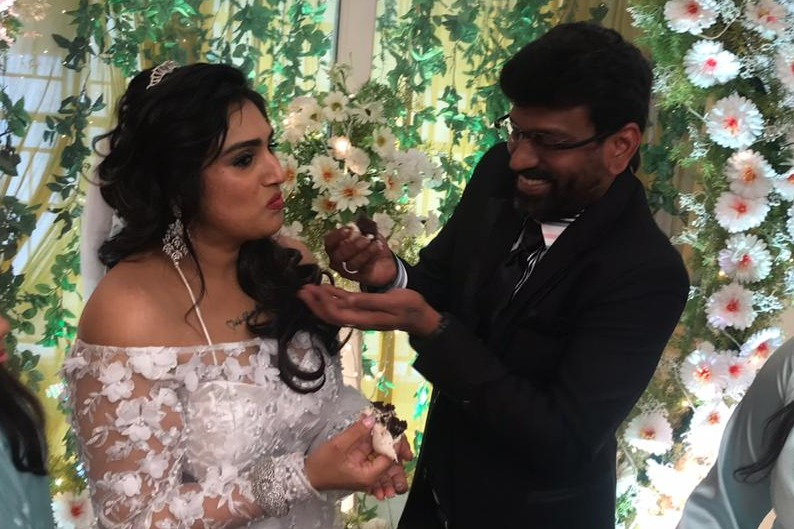 Vanitha Vijay Kumar  gets married to Peter Paul