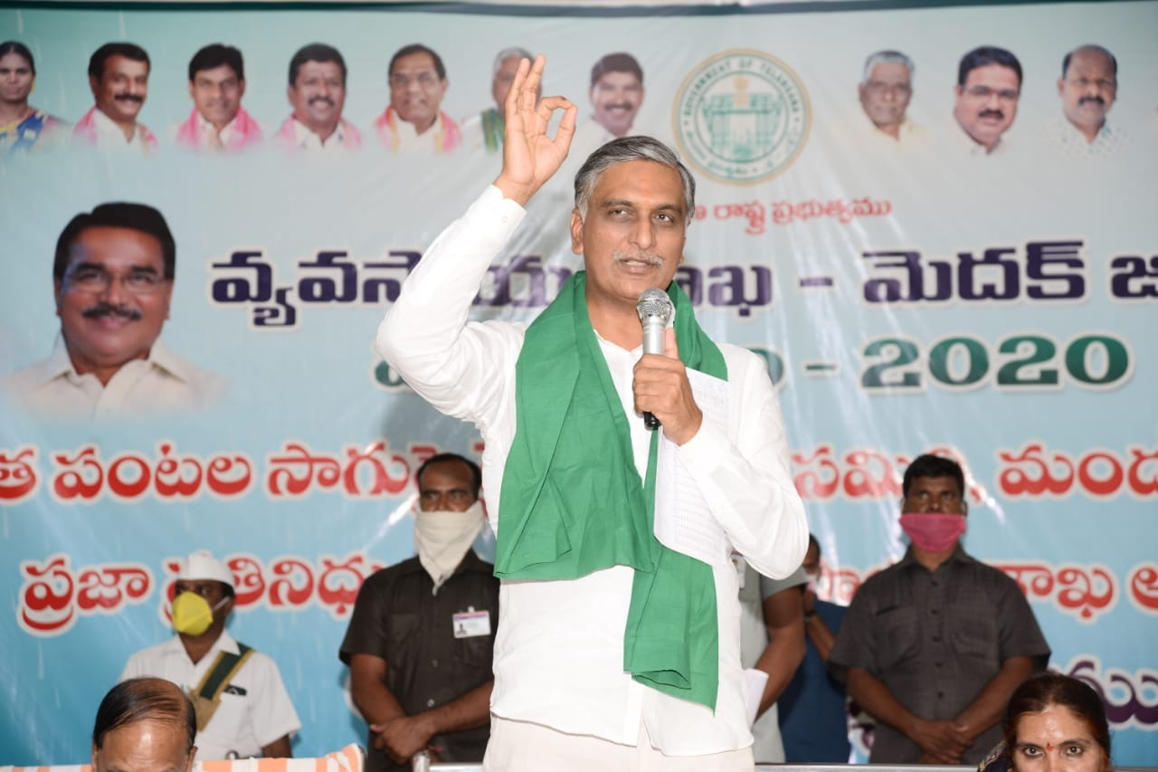 Government doctor humanity impresses minister Harish Rao