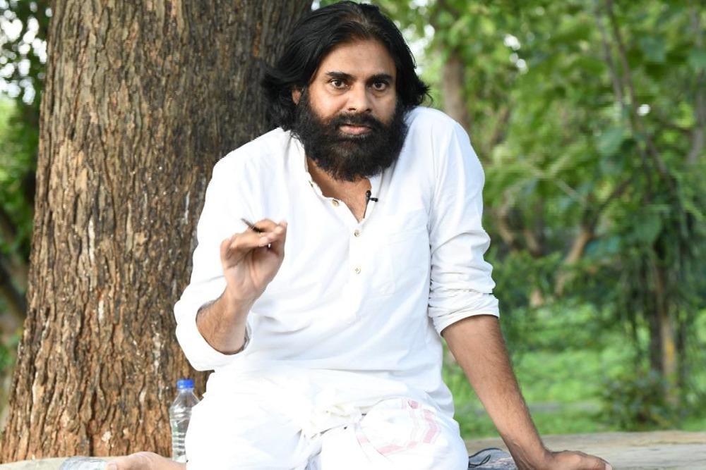 Pawan Kalyan thanks Shiva Swamiji