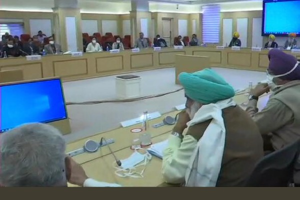 No result in Union ministers and Farmers meeting