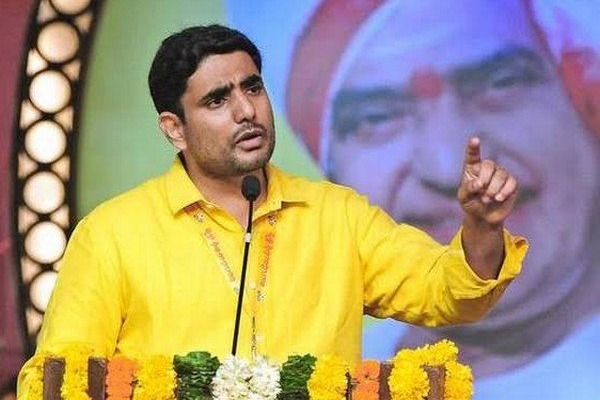 lokesh slams ysrcp