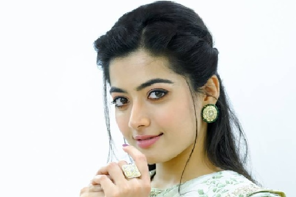 Rashmika to romance with Charan