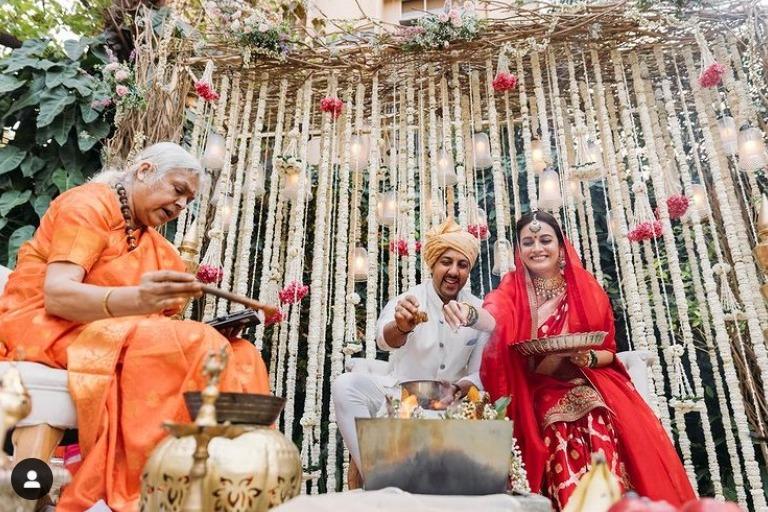 No Kanyadan and No Bidaai in Dia Mirza Wedding