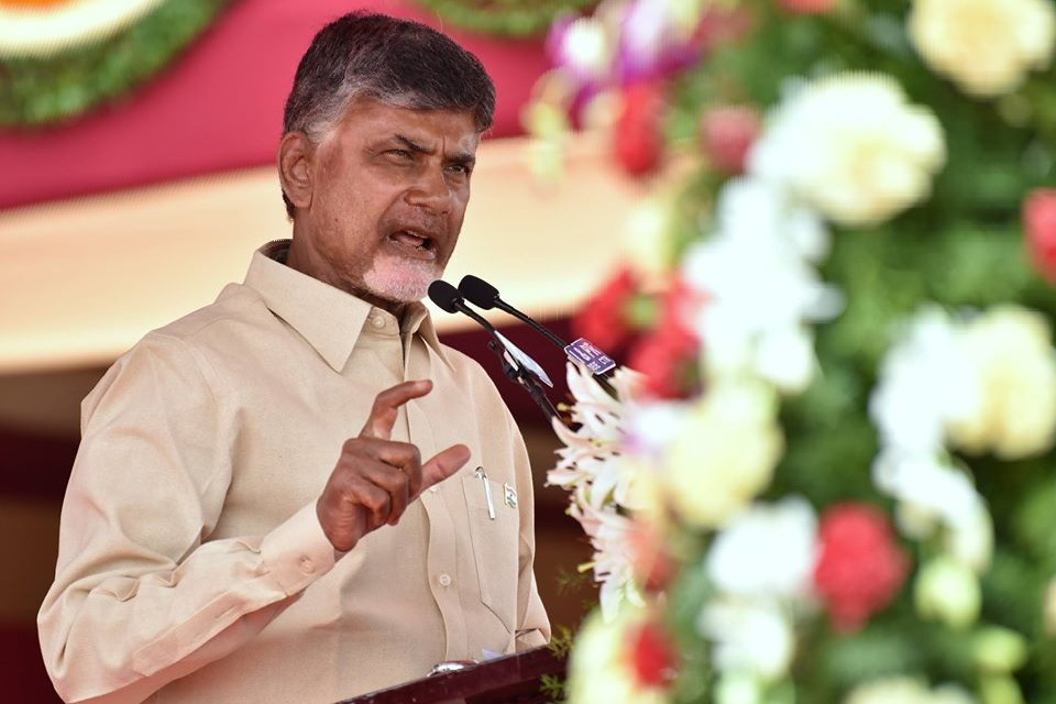 Chandrababu questions Election Commission role