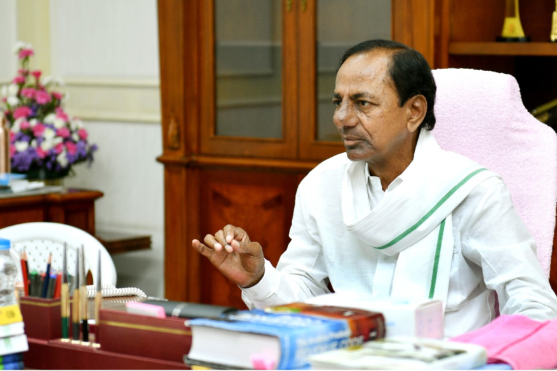 CM KCR reviews on new revenue system in Telangana