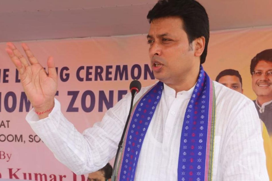 BJP and RSS brass meet Tripura CM Biplab Deb