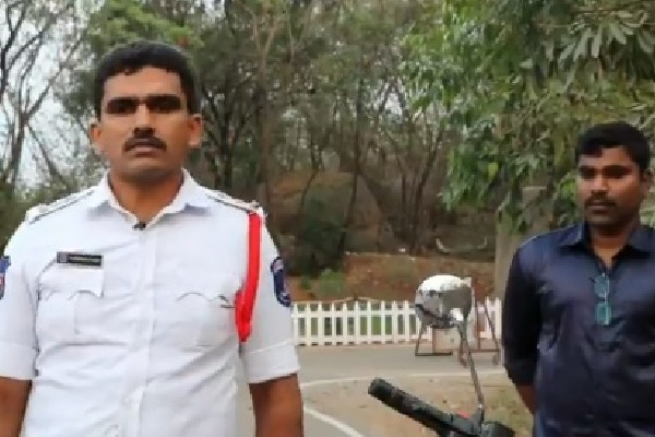 cyberabad police posts video
