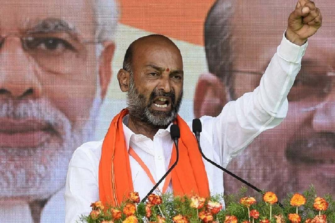 There is Christian rule in AP and Muslim rule in Telangana says Bandi Sanjay