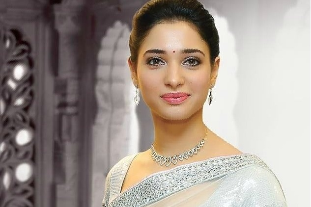 Thamanna opposite Dhanush in a Tamil movie