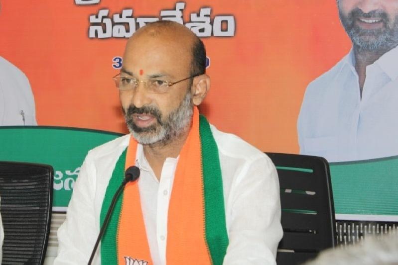 Bandi Sanjay asks CM KCR why Sivaji Jayanthi celebrations are not held