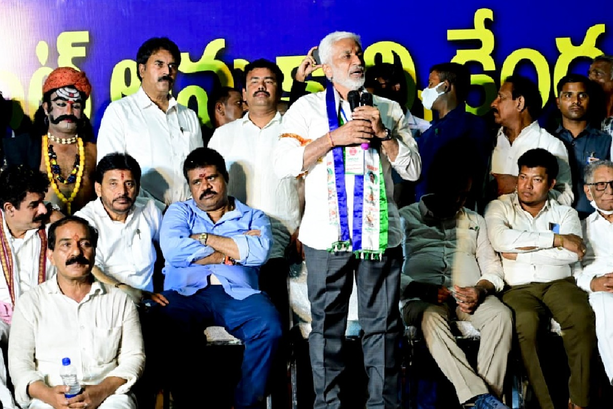 Vijayasai Reddy says the wont agree privatisation of Visakha Steel Plant