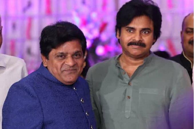 Pawan Kalyan attends a function at comedian Ali residence