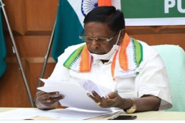 Two more MLAs resigned in Puducherry assembly