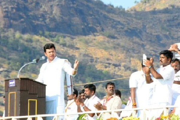 Tejaswi Surya Comments on DMK in BJP Youth Wing Meeting in Selam