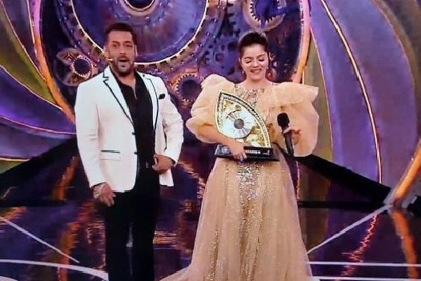 Rubina is the Winner of Biggboss Season 14