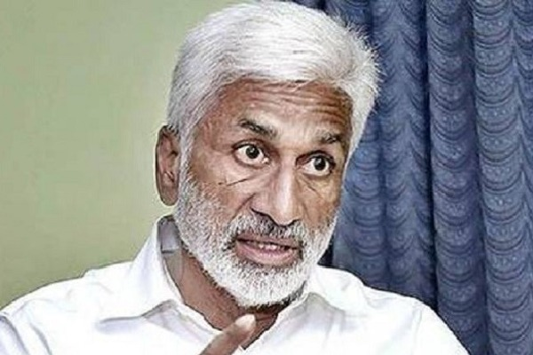 YSRCP MP Vijayasai Questions AP SEC in Twitter
