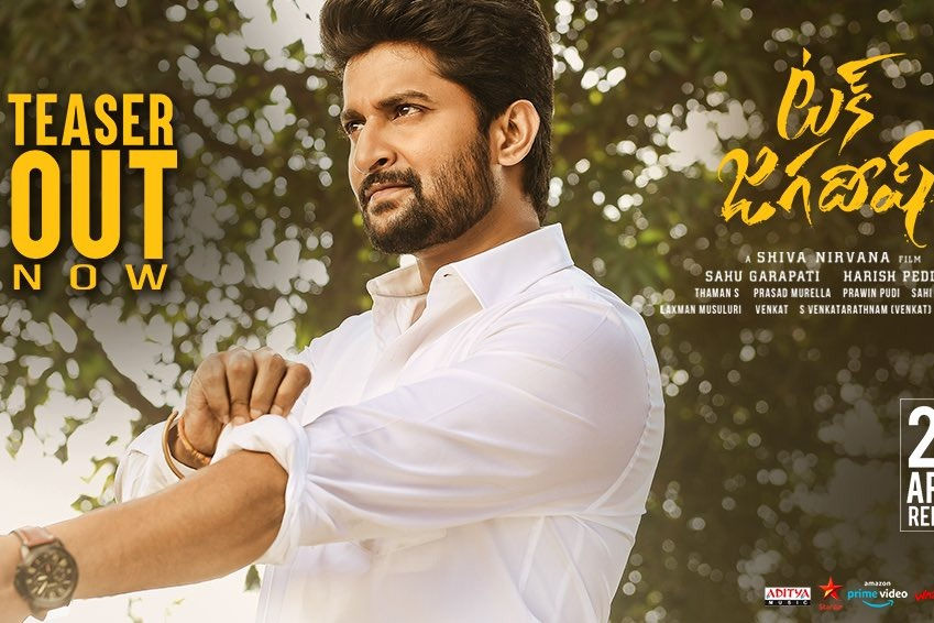 Nani Tuck Jagadish teaser released