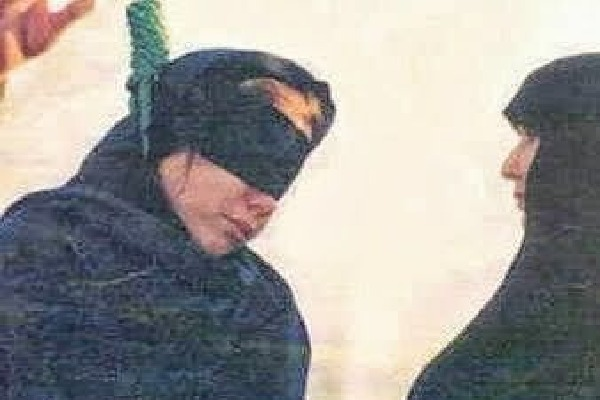 Iranian woman was hanged despite she died of heart attack
