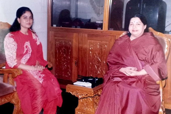 Vijayashanthi recalls memories with Jayalalitha