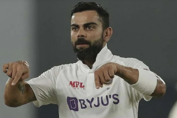 Kohli Guesture after A Fan Breach Protocal
