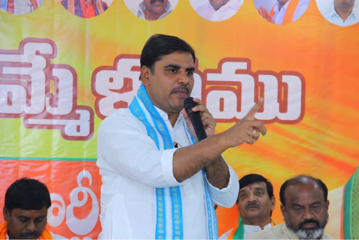 Vishnuvardhan Reddy alleges Chandrababu conspiracy continues