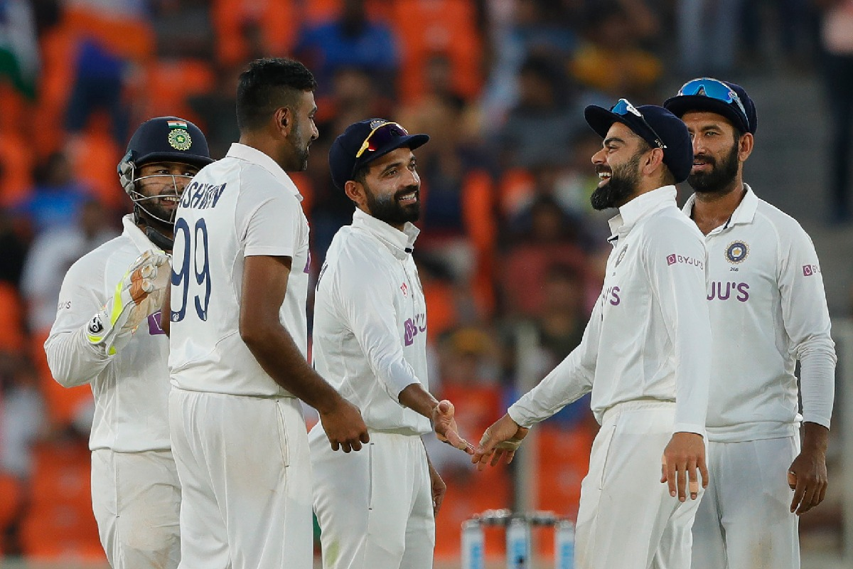 England collapsed in second innings
