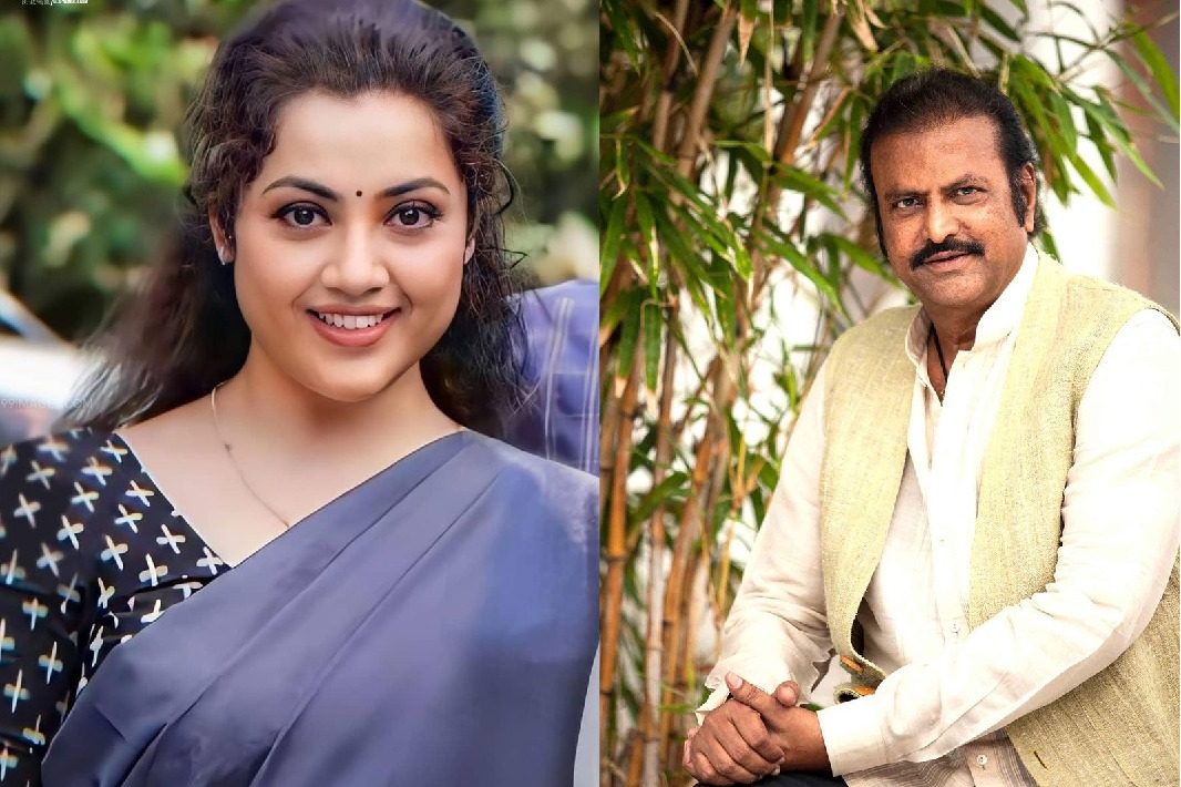 Mohan Babu and Meena to pair again