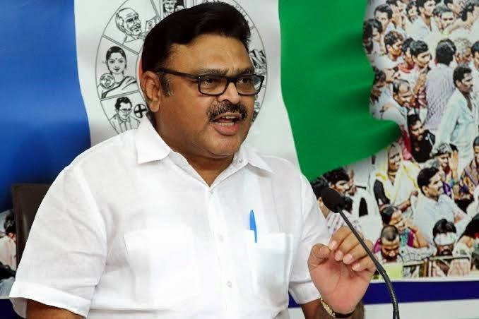 Ambati Rambabu slams Chandrababu and Lokesh