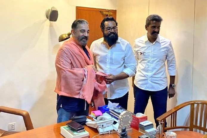 Sarath Kumar met Kamal Haasan for alliance in upcoming assembly elections