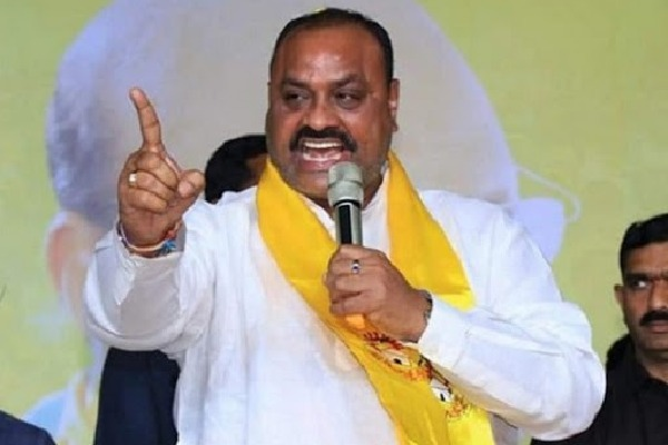 YSRCP will be defeated in Palasa says Atchannaidu