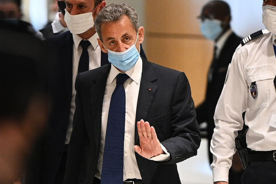 France former president Nicolas Sarkozy sentenced for three years