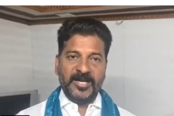 revanth reddy fires on trs
