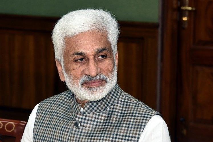 ganta will join in ycp says vijaya sai