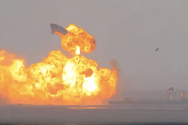 SpaceX Starship Rocket Prototype Nails Landing Then Blows Up